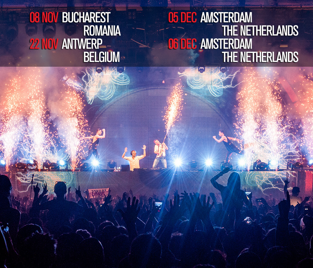 Armin Only Intense Crew Headed For Romania and Belgium